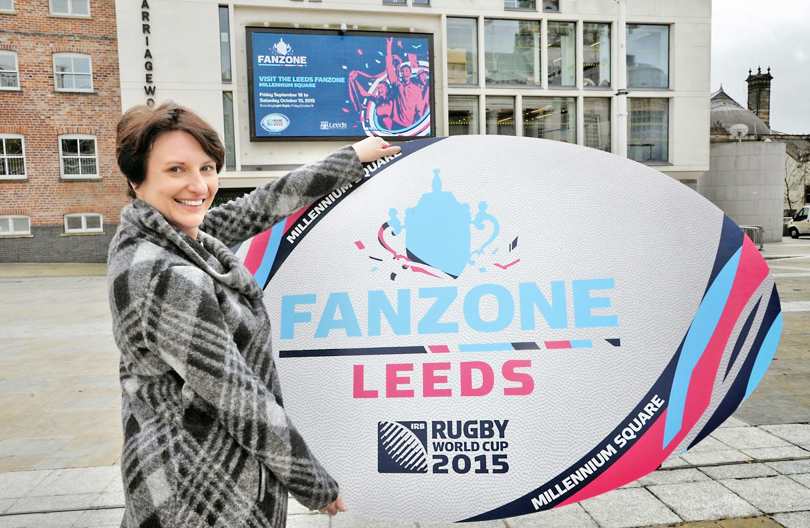 Millennium Square To Host Rugby World Cup Fanzone