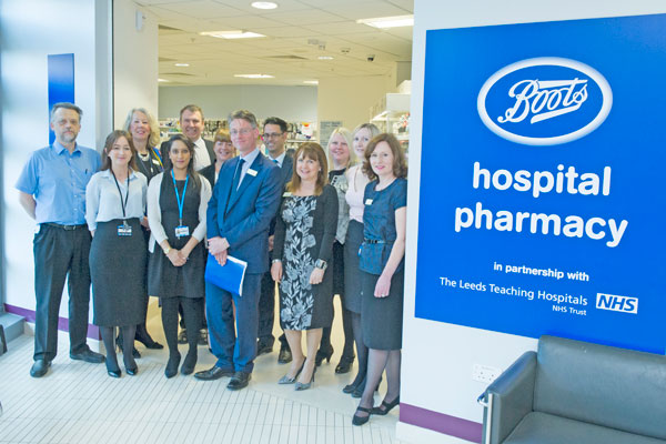 Opening Time For The New Outpatient Pharmacy In Bexley Wing At St James's