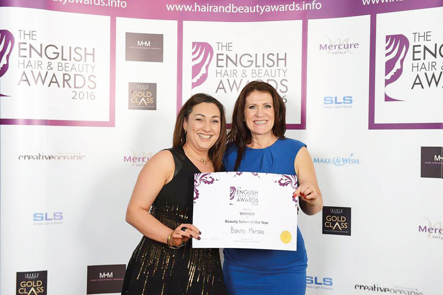 The Fifth English Hair & Beauty Awards WINNER