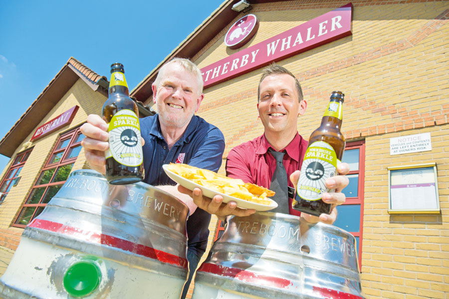WETHERBY WHALER TEAMS UP WITH LOCAL BREWERY