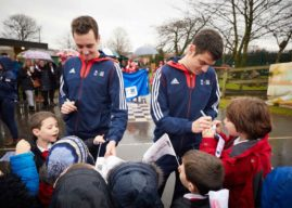1.2 MILLION YOUNG PEOPLE GET SET TO EAT FRESH AS ALDI ANNOUNCES FOUR YEAR PARTNERSHIP WITH TEAM GB'S BROWNLEE BROTHERS