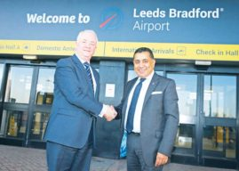 Lord Ahmad, Aviation Minister, Visits Leeds Bradford Airport