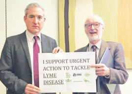 GREG MULHOLLAND SUPPORTING GREATER LYME DISEASE AWARENESS