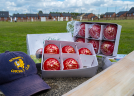 TAYLOR WIMPEY ENSURES ROTHWELL CRICKET CLUB NOT OUT