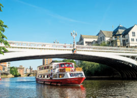 AFTERNOON TEA WITH CITY CRUISES YORK