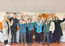 2nd Bramley Scouts Celebrate 70th Birthday