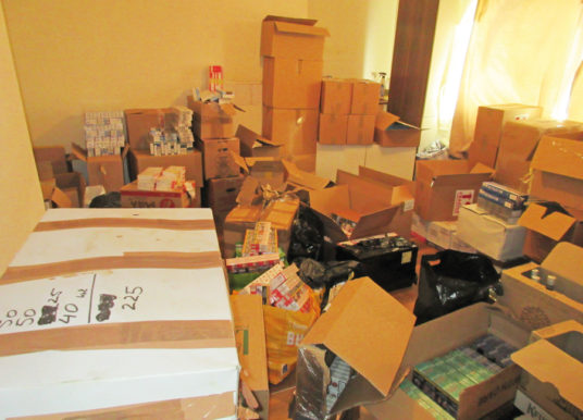 Largest Seizure Of Illegal Tobacco Products By WYTS