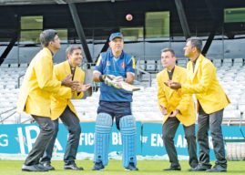 Recognition For Cricket-Loving Unity Board Member