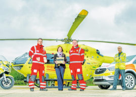 Yorkshire Air Ambulances Now Carry Blood On Board