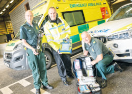 Blue Light Services Life-Saving Co-Responder Scheme