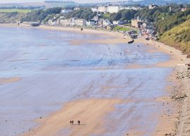 A Winter Beach Walk For Families At Filey