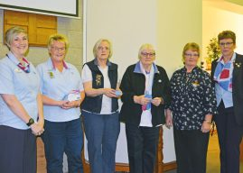 LEEDS VOLUNTEERS HONOURED FOR 40 YEARS OF SERVICE  TO GUIDING