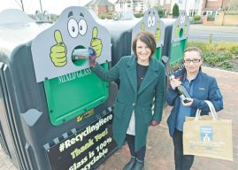 COMPETITION LAUNCHED – AS LEEDS ENJOYS A LIDL RECYCLING  LOVE WITH NEW GLASS BANKS