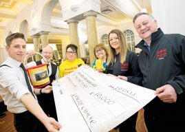 'Whale-Sized' Donation For Yorkshire Air Ambulance