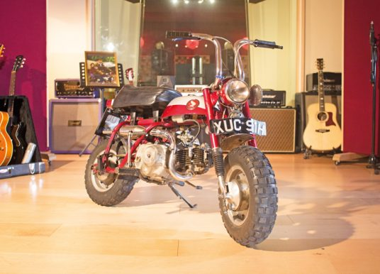 World Record Amounts For John Lennon's 'Monkeybike' & A Pre-Production Honda CB750