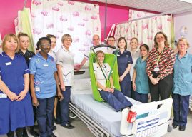 ELECTRONIC HOISTS TAKE PATIENTS TO NEW HEIGHTS ON CHAPEL ALLERTON WARD
