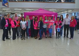 Tesco Turns Pink Again Promoting Race For Life