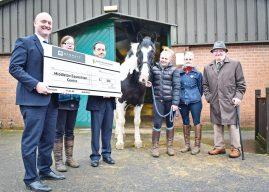 Barratt Developments Donate Cheque To Middleton Equestrian Centre