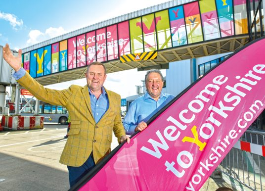 FAMOUS YORKSHIRE WELCOME AT LEEDS BRADFORD AIRPORT