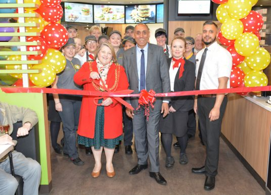 MCDONALD'S IN PUDSEY OFFERS DIGITAL 'CLICK AND COLLECT' ORDERING SERVICE