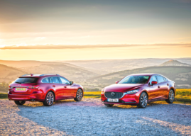 NEW MAZDA6 SALOON AND TOURER