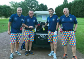 'FORE-FIGHTERS' ON FIRE AS THEY COMPLETE EIGHT FUNDRAISING ROUNDS IN JUST OVER 15 HOURS