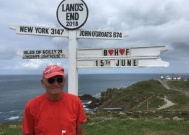 LEEDS MAN TREKS THE LENGTH OF THE COUNTRY IN SUPPORT OF BRITISH HEART FOUNDATION
