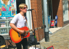 YOUNG LEEDS-BASED SINGER SONGWRITER RAISES FUNDS FOR MARTIN HOUSE