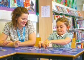 SUPPORT CHILDREN WITH READING IN YORKSHIRE