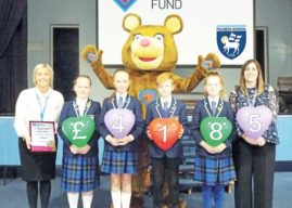 FULNECK SCHOOL RAISES OVER £4,000 FOR LOCAL CHARITY