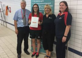 Leeds Lifeguard Scoops National Lifesaving Award