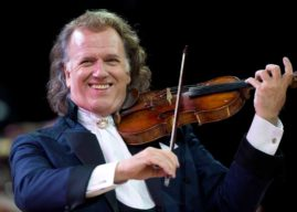 ANDRÉ RIEU, 'THE KING  OF THE WALTZ', RETURNS TO CINEMAS