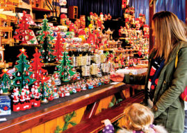 FEAST OF FESTIVE SIGHTS AND SOUNDS AT THE GERMAN MARKET