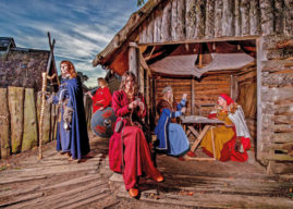 JORVIK VIKING FESTIVAL BRINGS FEMALES TO THE FORE