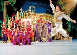 THE WONDERFUL WORLD OF DISNEY ON ICE, SKATES INTO LEEDS