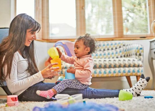 NSPCC's New Campaign Encourages Yorkshire Parents To Talk, Sing And Play With Their Baby From Birth To Help Build Their Brain