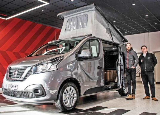 LOOKERS NISSAN TAPS INTO 'STAYCATION' BOOM WITH NEW CAMPERVAN CONVERSION SERVICE