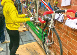 Re-Cycling At The Bikes College