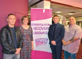 Leeds Celebrities Support Recovery Graduation
