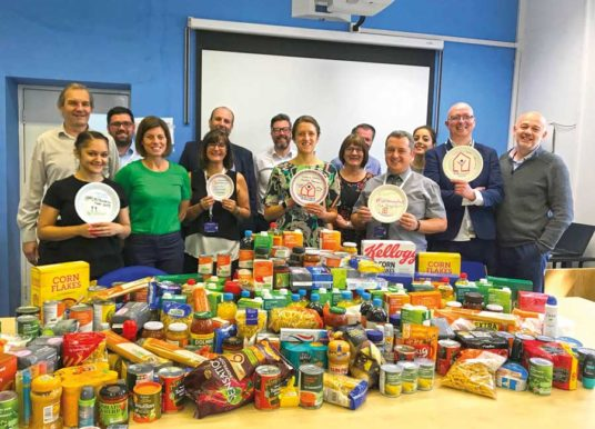 LYHA Proud To Support UK Housing Fast By Donating To Leeds Foodbanks