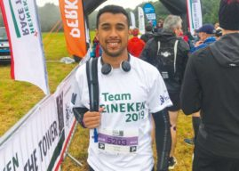 Marathon Man – Twice Over: Leeds Man Conquers The Race To The Tower Double Marathon For The National Deaf Children's Society