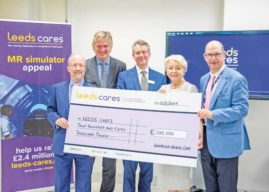 FINAL MAJOR DONATION SECURES LIFE-CHANGING NEW RADIOTHERAPY SCANNER FOR LEEDS CANCER CENTRE