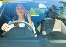 One in four people feel it is safe to use a mobile phone when behind  the wheel