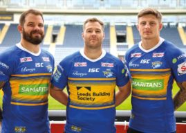 Leeds Building Society Donates Shirt Sponsorship To Make Space For Samaritans On Unique Leeds Rhinos Kit