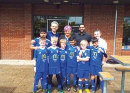 Local McDonald's Restaurants Form New Partnership With Local Deaf Junior Football Team