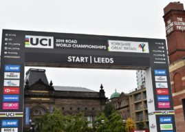 Men's road race at UCI Road World Championships in Leeds
