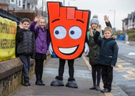 Children who walk to school are more aware of the negative impacts of motor traffic