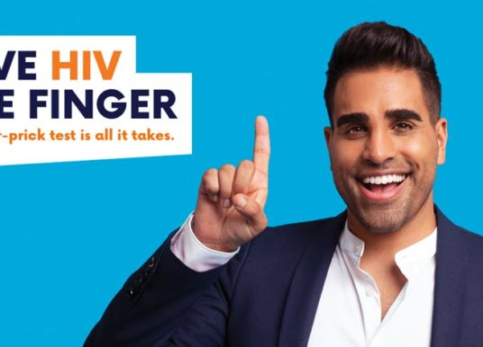 National HIV Testing Week – a finger-prick test is all it takes