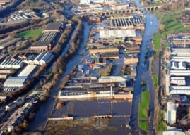 Opportunity to see detailed flood defence plans in Kirkstall