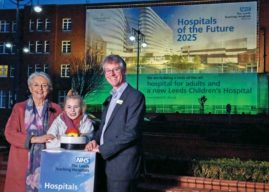 New Leeds Hospitals Celebrate Getting  The Green Light